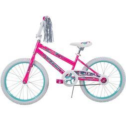 Girls Bike 20 Inch Single Speed BMX Cruiser Bicycle Steamers