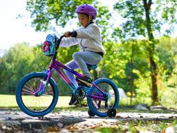 Girls Bike With Training Wheels For 7 Year Old 18 Inch Bicyc