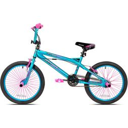 Girls BMX Bike 20 Inch Bicycle Peg Steel Kent Trouble Pink B