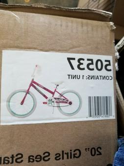 Girls brand new never opened 20 inch bike.