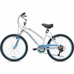 "New 24"" Kent Glendale Girls' Woman Cruiser Bike 7 Speed Stee"