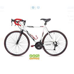 "GMC Denali Road Bike 21-Speed 22.5"" Aluminum Frame Men Bicyc"