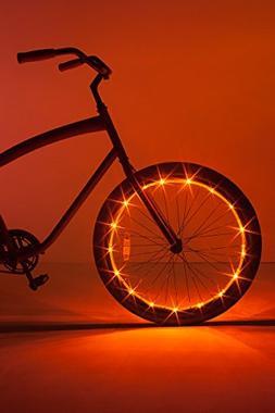 Brightz WheelBrightz LED Bicycle Wheel Accessory Light , Gol