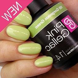 Pink Gellac #185 Gorgeous Green UV / LED Gel Polish