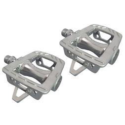 MKS GR-9 Platform Pedals, Silver