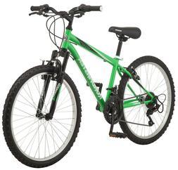 Roadmaster Granite Peak Mountain Bike, 24-inch wheels, Boys