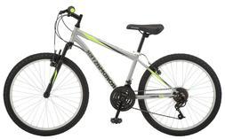 "Roadmaster Granite Peak Boy's Mountain Bike, 24"" wheels, Sil"