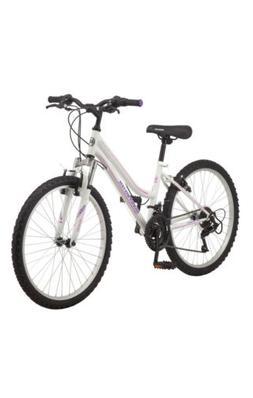 🔥🔥Roadmaster Granite Peak Girls Mountain Bike, 24 Inch