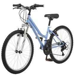 "Roadmaster Granite Peak Girls Mountain Bike, 24"" wheels, BLU"