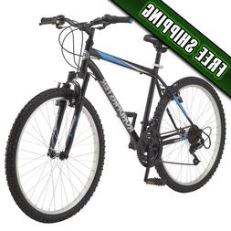 "Roadmaster Granite Peak Men's Mountain Bike, 26"" wheels, Bla"