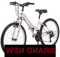 Roadmaster Granite Peak Mountain Girls Bike, 24-inch wheels,