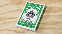 Green Back Deck Bicycle Playing Cards Poker Size USPCC Limit
