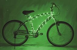 Brightz, Ltd. Cosmic Brightz LED Bicycle Frame Light, Green