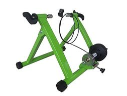 Green Magnet Steel Bike Bicycle Indoor Exercise Trainer Stan