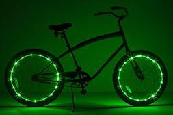 Brightz WheelBrightz LED Bicycle Wheel Accessory Light , Gre