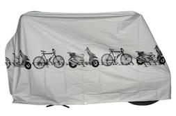 Blackcell Grey polyester waterproof bike bicycle cover