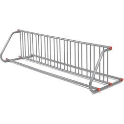 Global Industrial Grid Bike Rack, Double Sided, Powder Coate