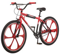Mongoose Grudge Mag BMX Freestyle Bike Single Speed 26 Inch