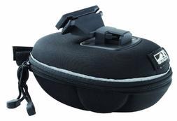 M-Wave Bicycle Cycling Hard Seat Bag, Black