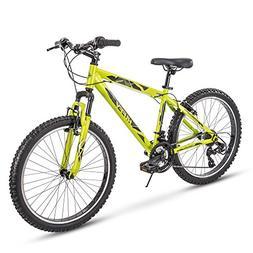 Huffy Mens Hardtail Mountain Bike, Tekton 24-26-27.5 inch 21