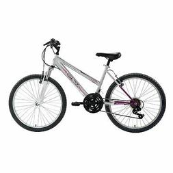 24 inch Girls Hardtail Mountain Bike Shimano 21 Speed Bicycl