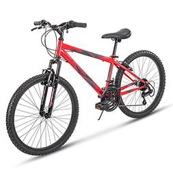 Huffy Hardtail Mountain Bike, Summit Ridge 24-26 inch 21-Spe