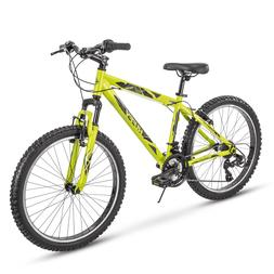 Huffy Hardtail Mountain Trail Bike,24 inch, Tekton, 21 Speed