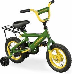 John Deere Heavy Duty 12 Inch Adjustable Training Wheels Kid