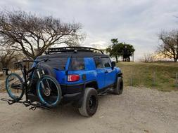 "Heavy Duty 2 Bike Bicycle 2"" Hitch Mount Carrier Platform Ra"