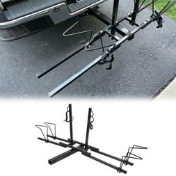 "New Heavy Duty 2 Bike Bicycle 2"" Hitch Mount Carrier Platfor"