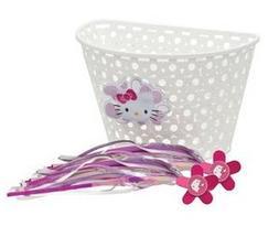Bell Hello Kitty Bike Basket & Streamers