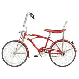 Micargi Hero Beach Cruiser Bike, Red, 20-Inch