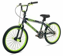 Razor High Roller BMX/Freestyle Bike, 20-Inch Black/Green