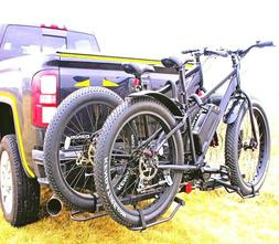 hitch big fat tire rack mount trailer