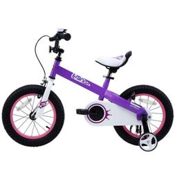 12 Inch Kids Bike Gift Boys Girls Bicycle Training Wheels BM