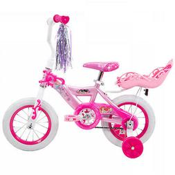 Huffy 12 Disney Princess Girls EZ Build Bike With Doll Carri