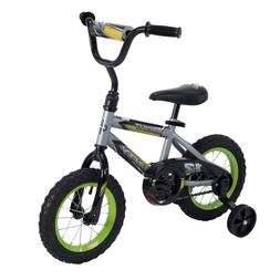 "Huffy 12"" Rock It Boys' EZ Build Kids Bike for Boys | Silv"
