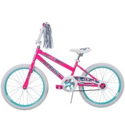 "20"" Huffy Girls' Durable, Safe for Kids Coaster Brake Sea St"