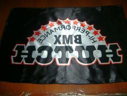 Hutch Logo 20x30 Flag Banner Show Garage Vintage BMX Flag Hu