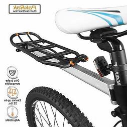 Ibera Bicycle Rear Seat Mount Carrier & Pannier Rack Cycling