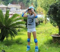 Innovative Soft Kids Knee and Elbow Pads with Bike Gloves |