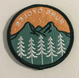 Interbike Pure Cycles Fix Bike Embroidered Patch New Iron On