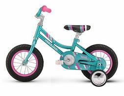 Raleigh Bikes Girls Jazzi 12 Bike One Size Teal