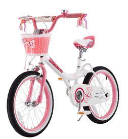 Royalbaby Jenny & Bunny Girl's Bike, 14inch Wheels, Jenny Pi