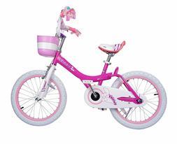 Royalbaby Jenny & Bunny Girl's Bike, 18 inch wheels,
