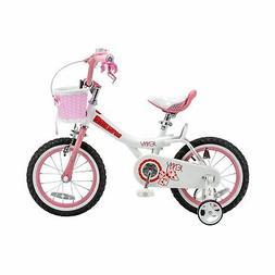 """12"""" Royalbaby Jenny Girls' Bike, Pink"""