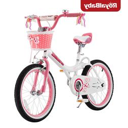 Royalbaby Jenny Princess Pink Girl's Bike with Training Whee