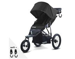 Premium Jogger Stroller, Car Seat Compatible, Umbrella, Trav