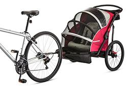 Schwinn Joyrider Double Bicycle Trailer, Red