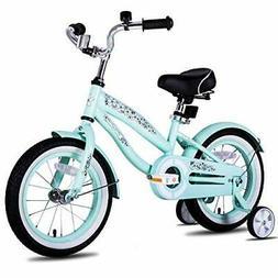 "JOYSTAR 12"" 14"" 16"" Kids Cruiser Bike with Training Wheels f"